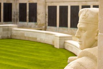 Royal Navy war memorial, Plymouth, England.