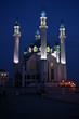kul scharif moschee in kazan bei nacht