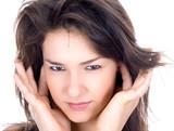 Nice brunette do not want lesternig more poster