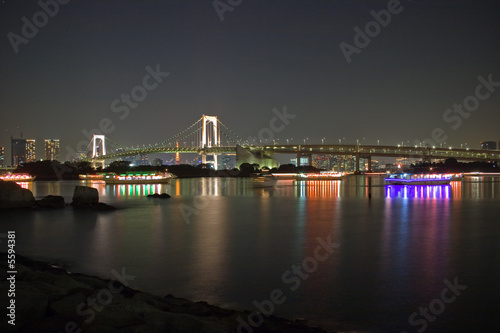Rainbow bridge 2 (night shot)
