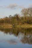 The River avon warwick warwickshire england uk. poster