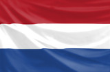 flag of kingdom of the netherlands poster