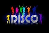 disco silber poster