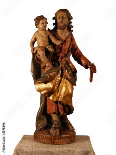 Josef mit Jesuskind