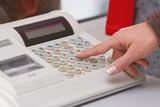 Electronic cash register poster