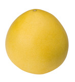 Pomelo or Chinese grapefruit cutout with clipping path poster