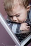 bébé éveil culture ordinateur génération pc poster