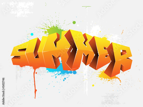 graffiti summer