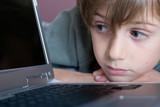 enfant internet ordinateur génération apprendre poster