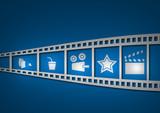 cinema blu poster