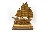 Slavný a slibný feng shui bohatství loď.