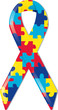 Autism Awareness Ribbon - 5625178