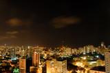 Aerial Shot of Salvador - Brazil at Night . poster