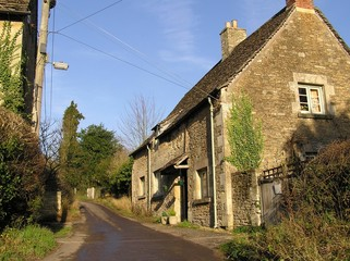 Cottage at Lacock, Wiltshire UK