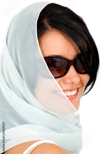 fashion woman portrait - smiling