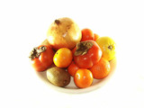 Still-life from fruit poster