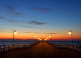 Sunrise at at Baltic Sea poster