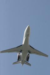 AIRCRAFT PASSENGER IN FLIGHT