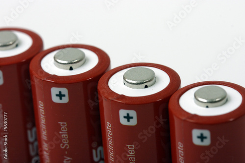 Batteries in line
