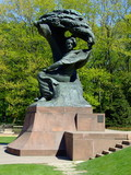 Frederick Chopin monument poster