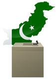 Election pakistanaise poster