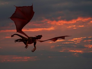 Flying Dragon & Sunset 2