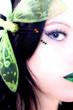 grüner schmetterling 1