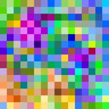 Fototapety Colorful large pixels abstract pattern background