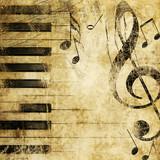 Fototapeta muzyczny - ilustracja - Inny Instrument