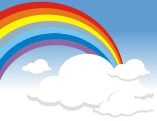 origen de un arcoiris