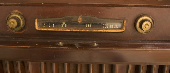 Old TV Controls