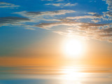 Fototapety Blue Sunset