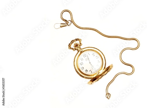 Open pocket watch.