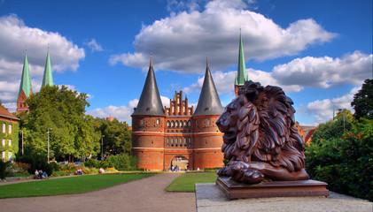 Holstentor, Lübeck, Deutschland