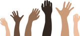 multiracial poster
