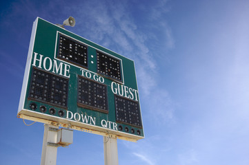 HIgh School Score Board