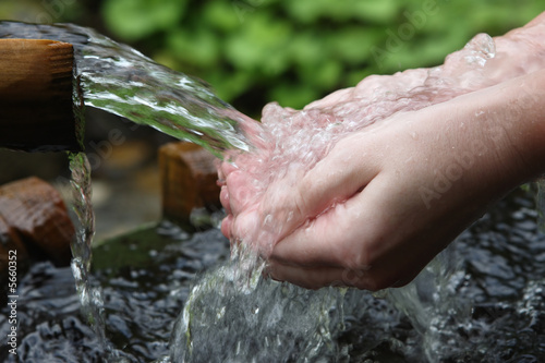 nature water aqua hands fresh pure health spring