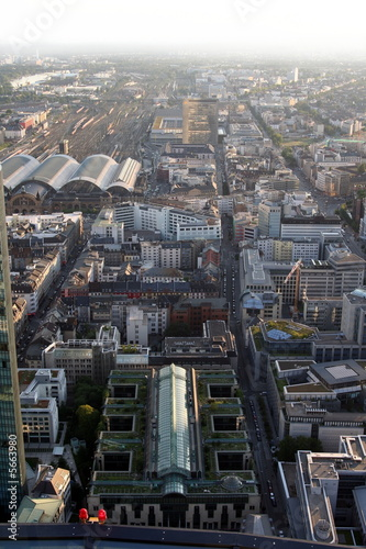 Leinwandbild Motiv Frankfurt