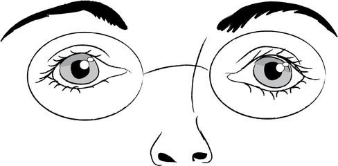 femmeyeux lunettes
