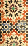 Royal Palace tiles Marrakech, Morocco North Africa poster