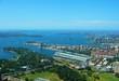 Leinwandbild Motiv Sydney - Bucht von oben