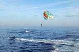 Parasailing Parachute poster