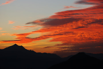 Phoenix, Arizona, sunset