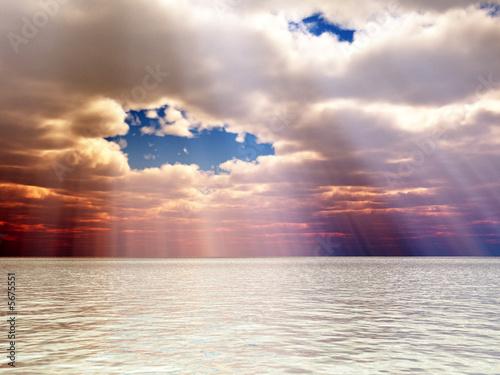 Leinwanddruck Bild Beautiful landscape