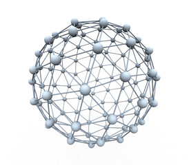 spheres connected