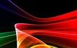 Colorful 3D rendered fractal design