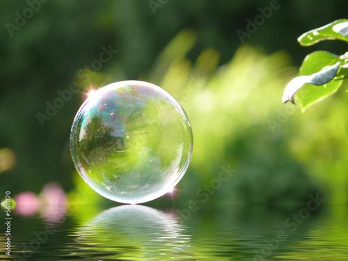 Seifenblase + Wassereffekt