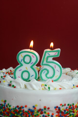 Birthday Cake - Eighty Five