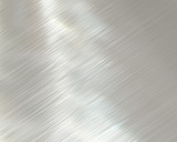 highly polished and reflective stainless steel background poster