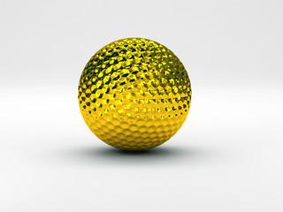 palla da golf oro